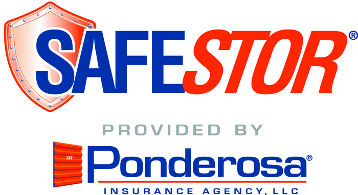 Safestor Provided By Ponderosa Logo Print